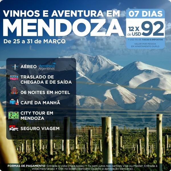 Mendoza Vinhos e Aventura