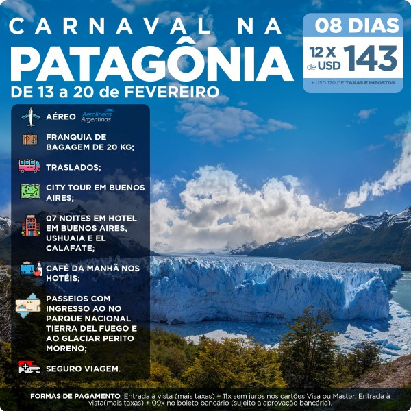 Patagonia no Carnaval